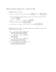 Electrical Engineering 20N - Fall 1999 - Midterm 1