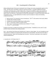 Counterpoint Packet 3
