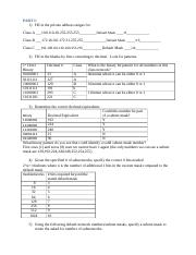 Unit 2 Lesson 4 Lab 1 IP Addressing and Subnetting Worksheet 1.doc