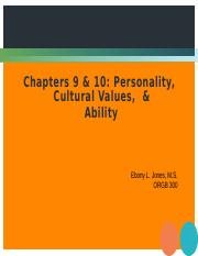 Personality, Cultural Views and Ability.pptx