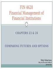 Chapter 23Comparing Futures and Options.pptx