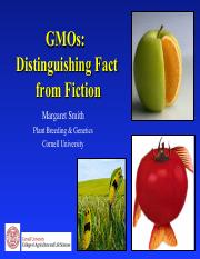 GMOs distinguishing fact from fiction lecture.pdf