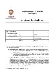 23gsbwolves investment decision report (info systems ii)