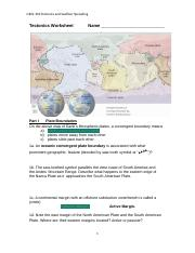 Worksheet Tectonics and Seafloor Spreading.docx