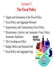 Lecture 5. Fiscal Policy (5).pptx