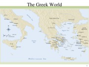 Greek early and high classical periods