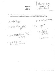 MA 373 S11 Quiz 3 Solutions