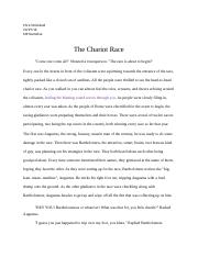 The Chariot Race.docx