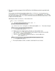 2011 questions ap® computer science a 2011 free response