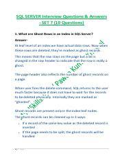 sql-server-interview-questions-answers-set-6 pdf - SQL SERVER(SSIS