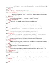 True False 1 points QUESTION 16 1 In an AOA network diagram occur ...