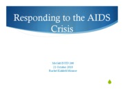 Responding to AIDS