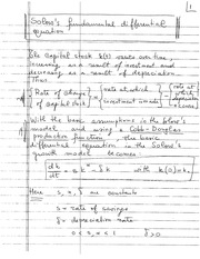 MA 138 Spring 2014 Differential Equation Lecture Notes