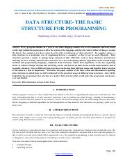 Data Structure the Basic Structure for Programming-96