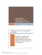 2. Types of Requirements Overview - FALL 2014