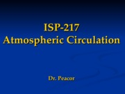 ISP217 Atmosperic circulation
