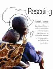 Rescuing the Mind of Africa