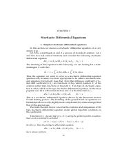 Chapter 5 Stochastic Differential Equations