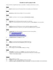 Personality_Profile Checklist_Key_Elements.docx