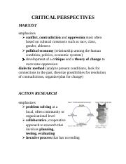 EPSE 595 21 Sep 2011 handout CRITICAL PERSPECTIVES.docx