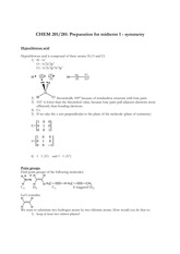 Preparation for midterm1 -symmetry-solutions