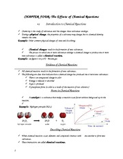 Unit 2 - Chemistry Notes