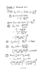 STAT 473 HW Solutions CH 2
