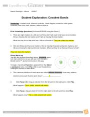 Copy of Ionic Bonds SE.pdf - Name Date Student Exploration ...