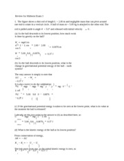 Physics practice exam 3 solutions