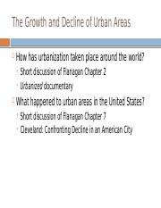 Lecture 4 Growth and Decline of Urban Areas in the United States (1).pptx