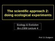 4. Doing ecological experiments.pptx