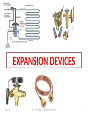 EXPANSION DEVICES