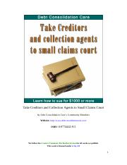 Take-Creditors-and-Collection-Agents-to-Small-Claims-Court