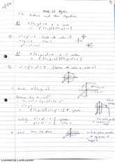 Algebra Surfaces and their Equations Lecture Notes