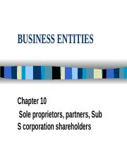 6 Entities131 revised Sp11.pptx