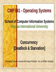 CMP641 Week 7-Concurrency_Deadlock and Starvation.pptx