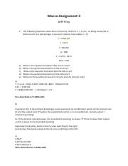 Macro Assignment 3 solutions