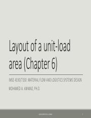 9 Layout of a Unit-load area - Part 1.pdf