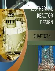 Chapter 4 - Isothermal Reactor Design.pptx
