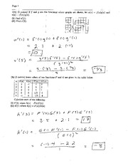 Exam 2 Solution Fall 2005 on Calculus and Analytic Geometry I