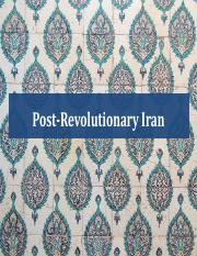 SOC 386_Lecture 10_Islamic Revolution_post rev(1)
