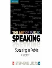 CH01 PublicSpeaking Ch. 1.ppt