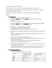 Biology of Organisms- Lab Report 1.docx