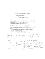 phy 131 midterm3 with solutions