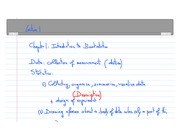 Intro to Biostats Notes