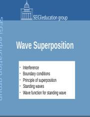 2. Wave Superposition