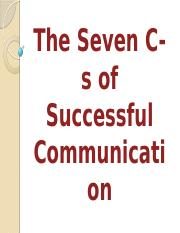 The Seven C-s of Communication.pptx