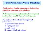 Lecture 10_2013 Secondary structure of proteins