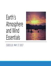 CGEO110 Earth's Atmosphere and Wind Essentials.pptx