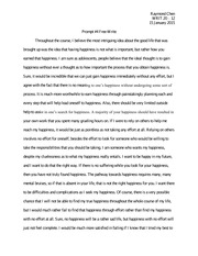 500 Words Free-Write Prompt 4 Sample